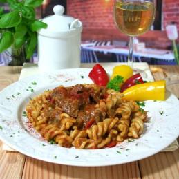 Dosen Bistro Rindergulasch ungarisch mit Nudeln (400g)