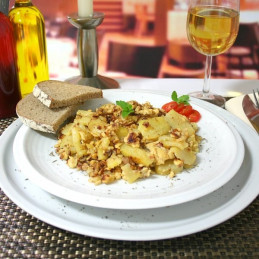 Dosen Bistro Scrambled Egg, Ham and Crunchy Potatoes (400g)