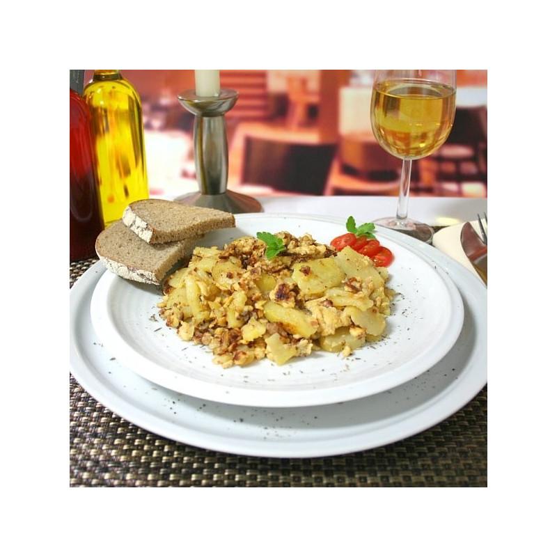 Dosen Bistro Uova strapazzate con pancetta e patate fritte (400g)