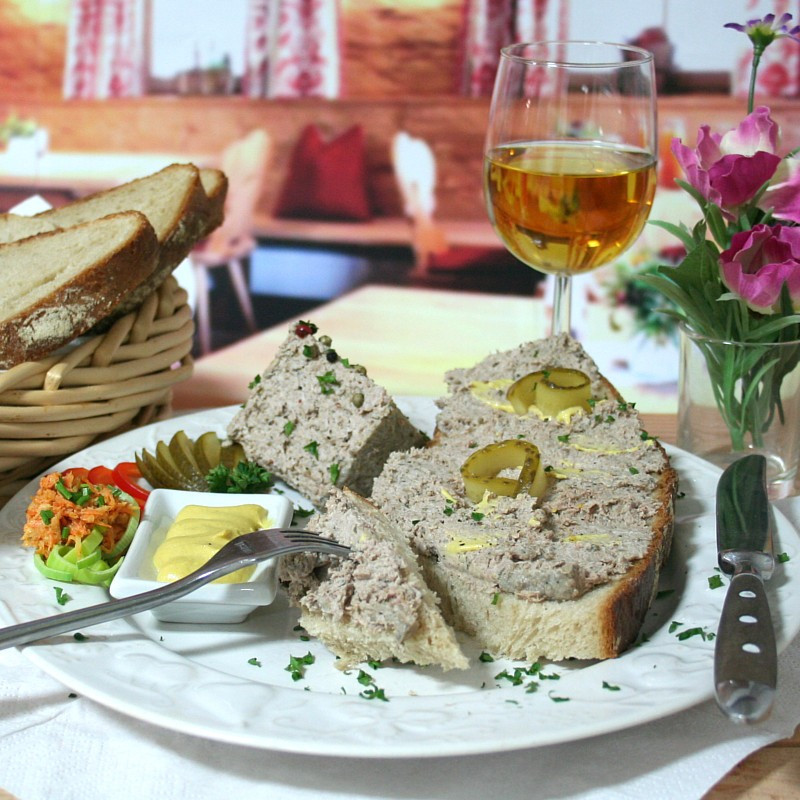 "Dosen Bistro homemade ""Leberwurst"" (400g)"