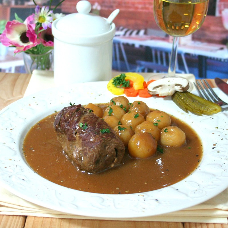 Dosen Bistro beef roulade with potatoes (400g)