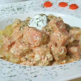 Dosen Bistro Salmone in salsa di aneto con patate (400g)