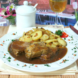 Dosen Bistro Roast Pork in Beer-Sauce (400g)