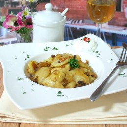 Dosen Bistro crunchy potatoes with ham (400g)