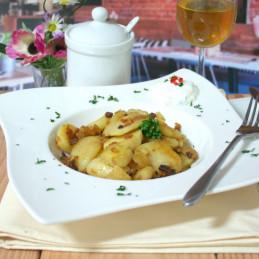 Dosen Bistro patate fritte con pancetta (400g)
