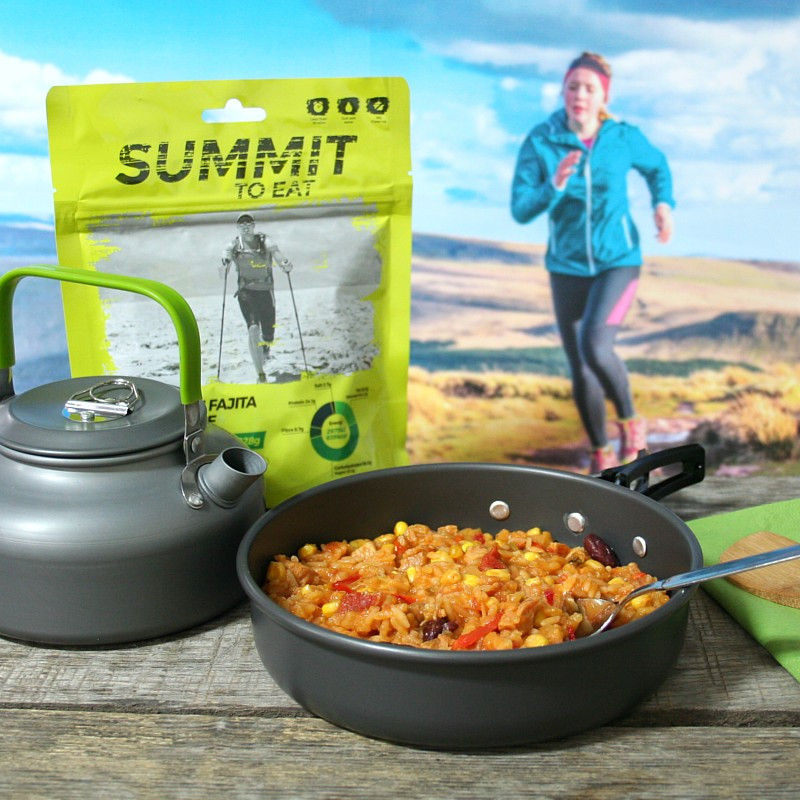 Summit mexican chicken (fajita) with rice (128g)
