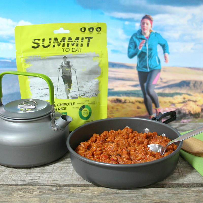 Summit chili aux légumes chipotle avec du riz (136g)