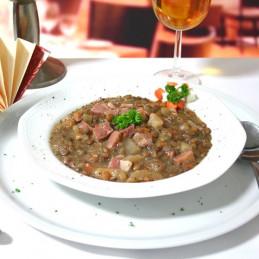Dosen Bistro Linseneintopf mit Pökelfleisch (400g)