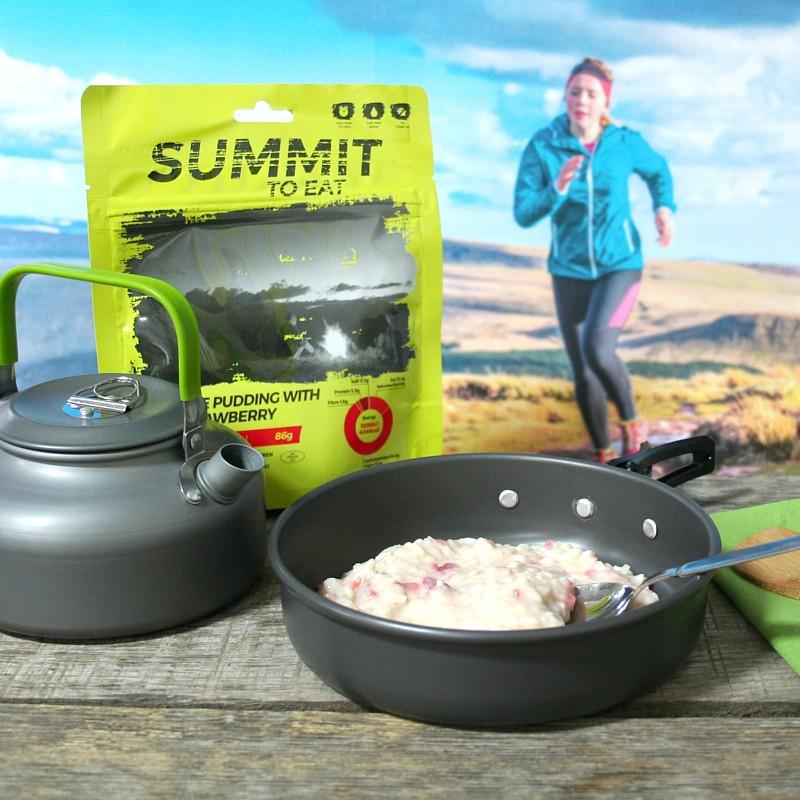 Summit Reispudding mit Erdbeeren (86g)
