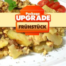 Package Upgrade Frühstück