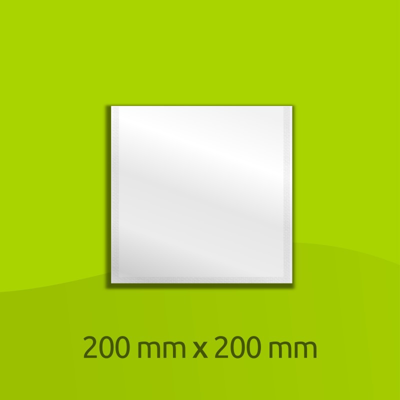 Sachet en alliage aluminium, 200mm x 200mm