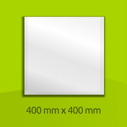 Sachet en alliage aluminium, 400mm x 400mm