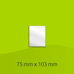 Sacchetto di alluminio laminato 75mm x 103mm