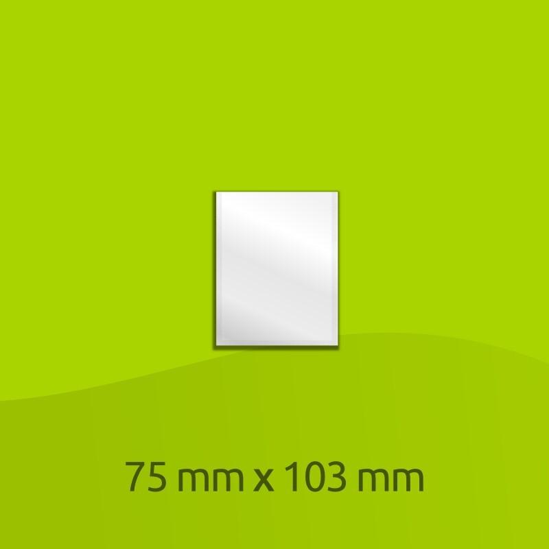 Sacchetto di alluminio laminato 103mm x 75mm