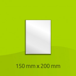 "Aluminium-laminated bag, 200mm x 150mm (8"" x 6"")"