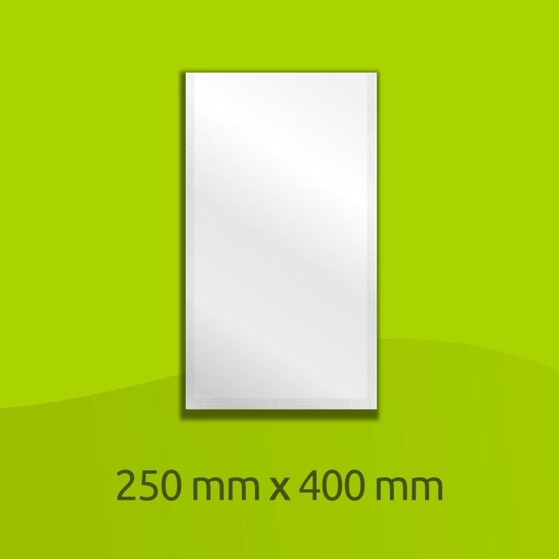 """Aluminium-laminated bag, 400mm x 250mm (16"""" x 10"""")"""