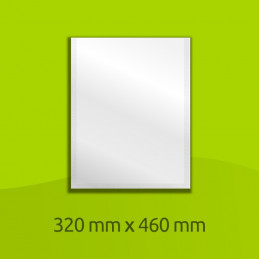 "Aluminium-laminated bag, 460mm x 320mm (18"" x 12"")"