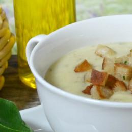 Dosen Bistro Soupe à la crème d'ail sauvage (400g)