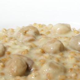 EF Caps de champignons dans une sauce à la crème - repas complet (400g)