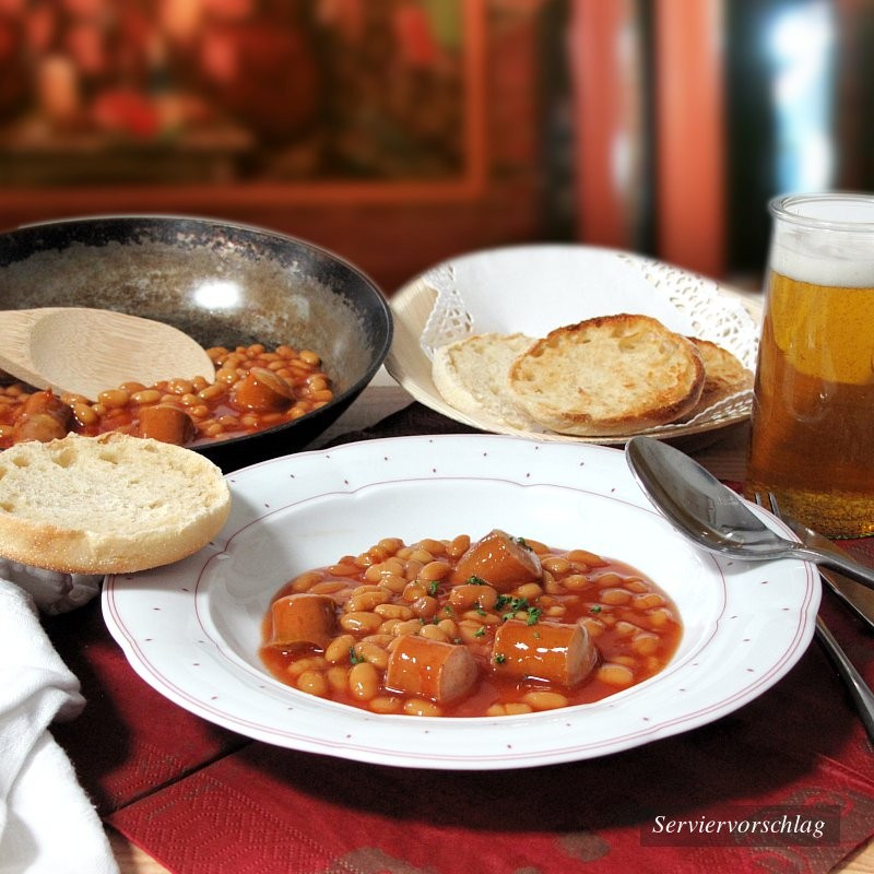 Dosen Bistro Baked Beans with Sausages (400g)