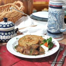 Dosen Bistro Goulache de Porc à la bière aux boulettes de farine (400g)