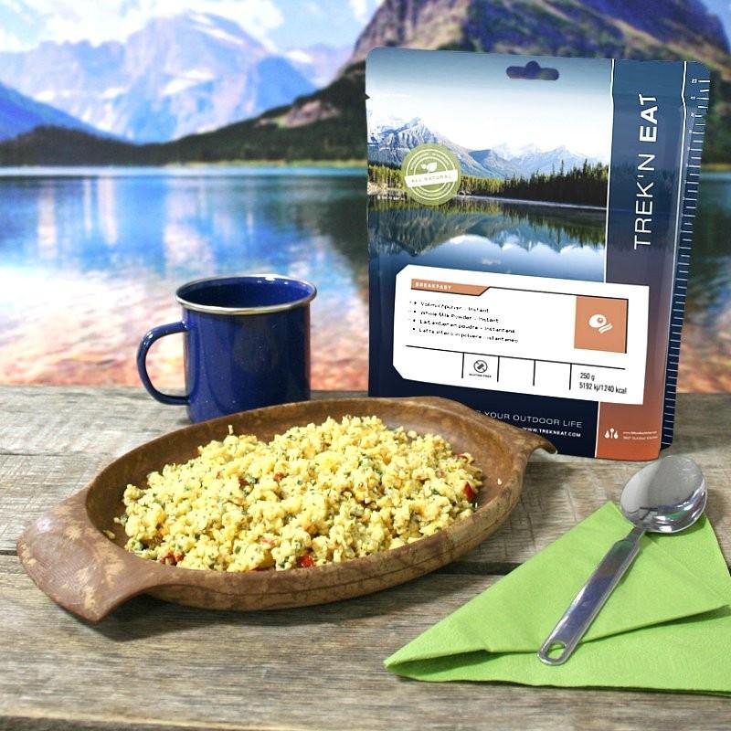 TREK'N EAT Oeufs brouillés aux oignons (125g)