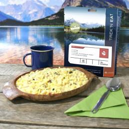 TREK'N EAT Pâtes à la crème au poulet et aux épinards (150g)