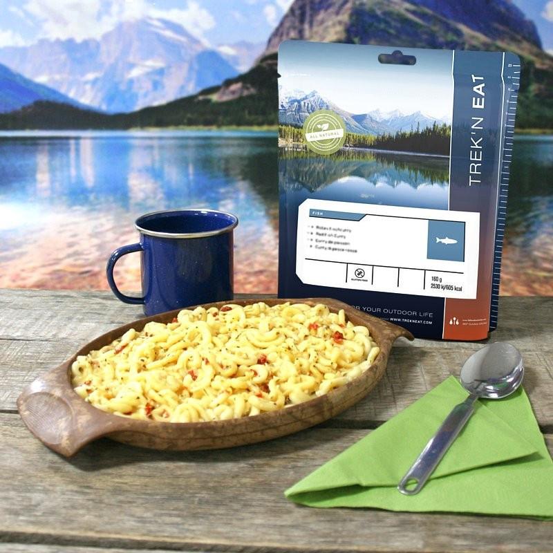TREK'N EAT Pâtes au pesto de saumon (160g)