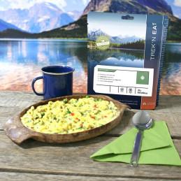 TREK'N EAT Pasta Primavera-Nudeln in Gemüsesoße (150g)