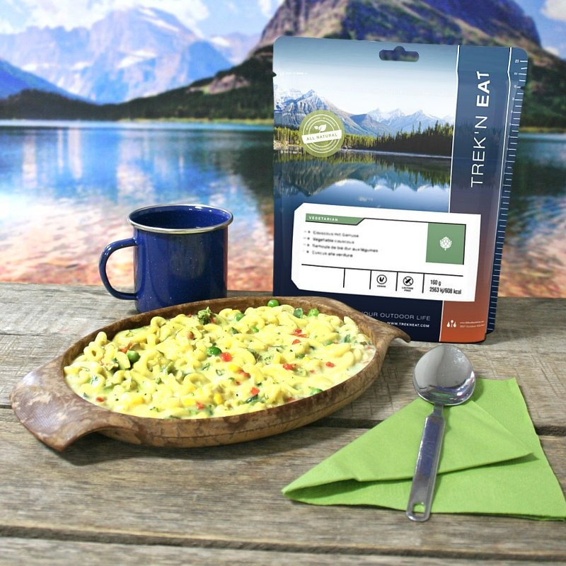 TREK'N EAT Pasta Primavera (Mixed Vegetable Pasta) (150g)