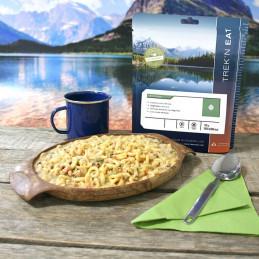 TREK'N EAT Sauté de champignons et soja aux pâtes (160g)