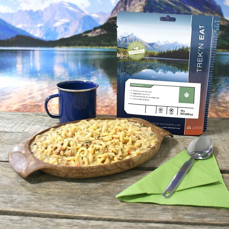 TREK'N EAT Ragù ai funghi di bosco e soia con pasta (160g)