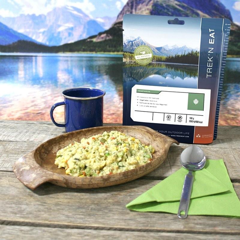 TREK'N EAT Semoule de blé dur aux légumes (160g)