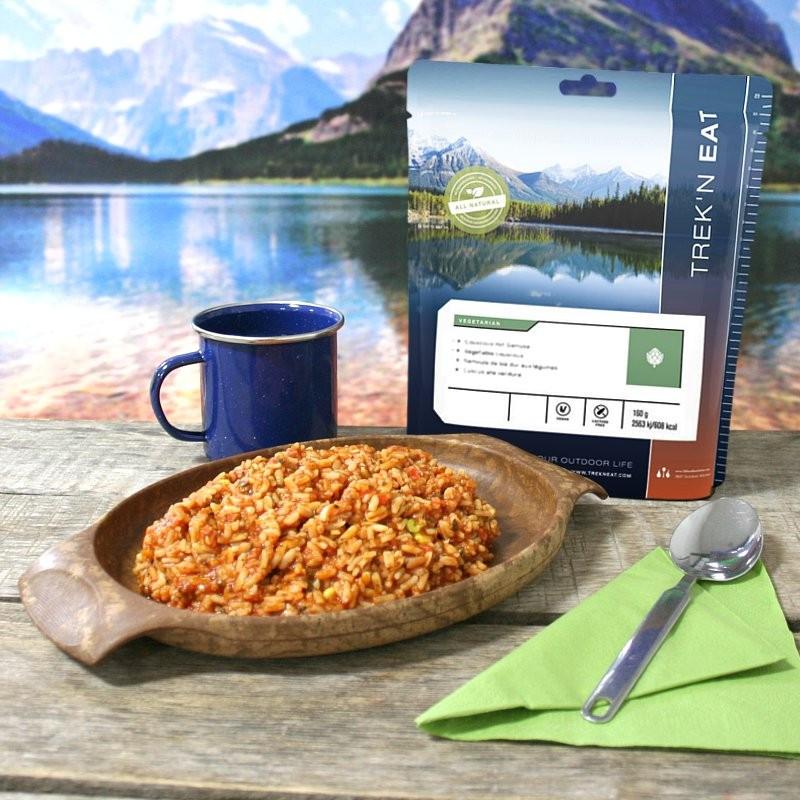 TREK'N EAT Riz cajun jambalaya aux légumes (180g)