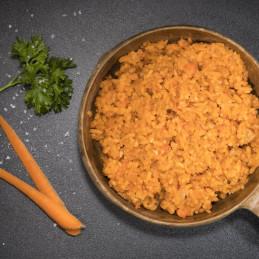 Reis mit Schweinefleisch (115g)
