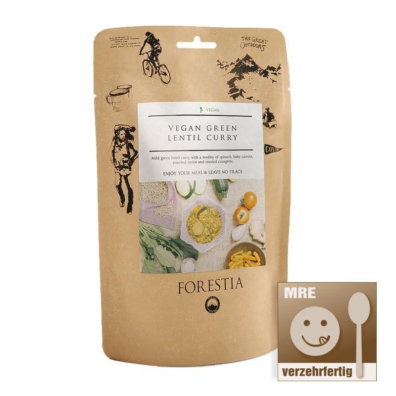 Forestia Veganes Curry mit grünen Linsen-PO (350g)