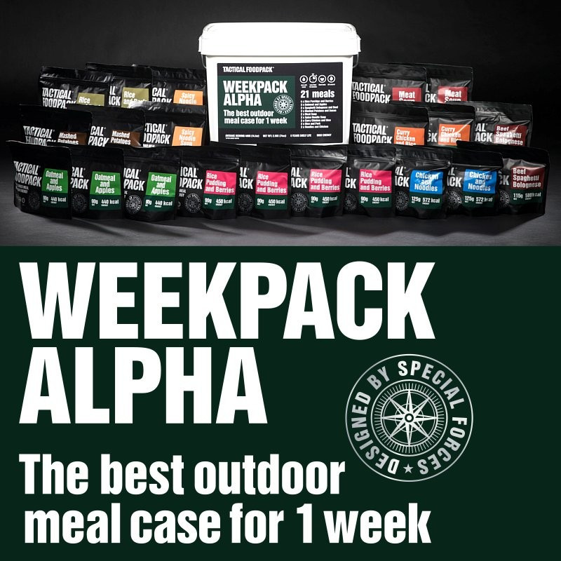 Tactical Foodpack WeekPack Alpha