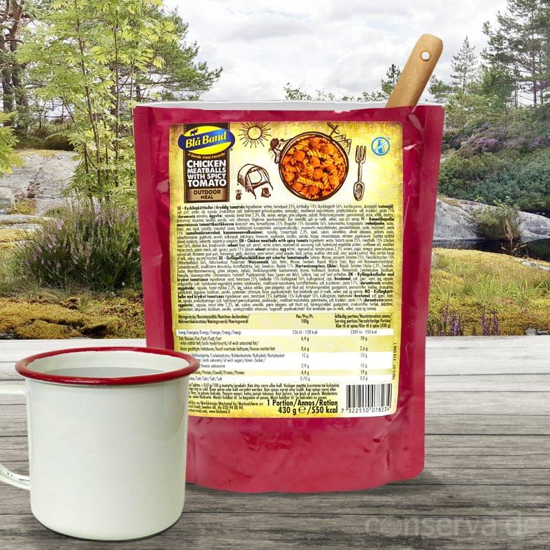 Blå Band Polpette di pollo con salsa piccante di pomodoro