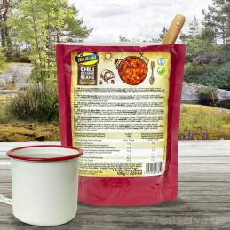 Blå Band Chili sin Carne mit Kidneybohnen