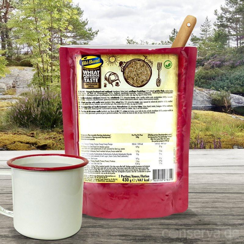 Blå Band Porridge di grano con aroma di vaniglia