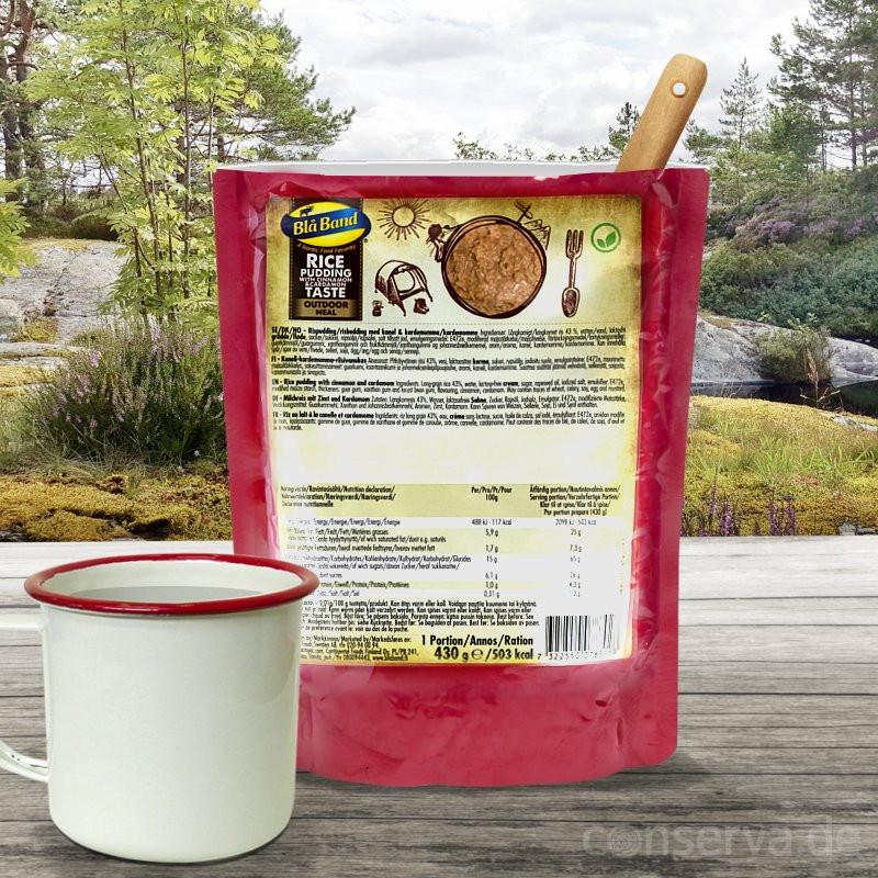 Blå Band Rice Pudding with Cinnamon and Cardamom