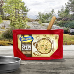 Blå Band Wilderness Stew with Rice