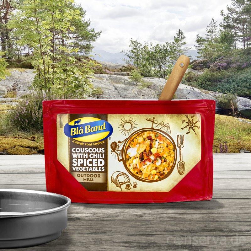 Blå Band Couscous con verdure piccanti al peperoncino