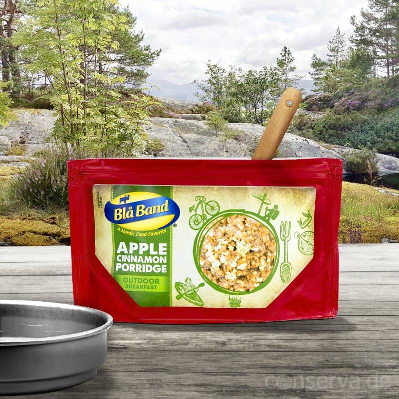 Blå Band Roggenbrei mit Apfel und Zimt