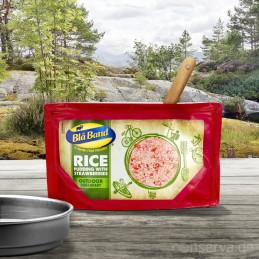 Blå Band Pudding de riz aux fraises