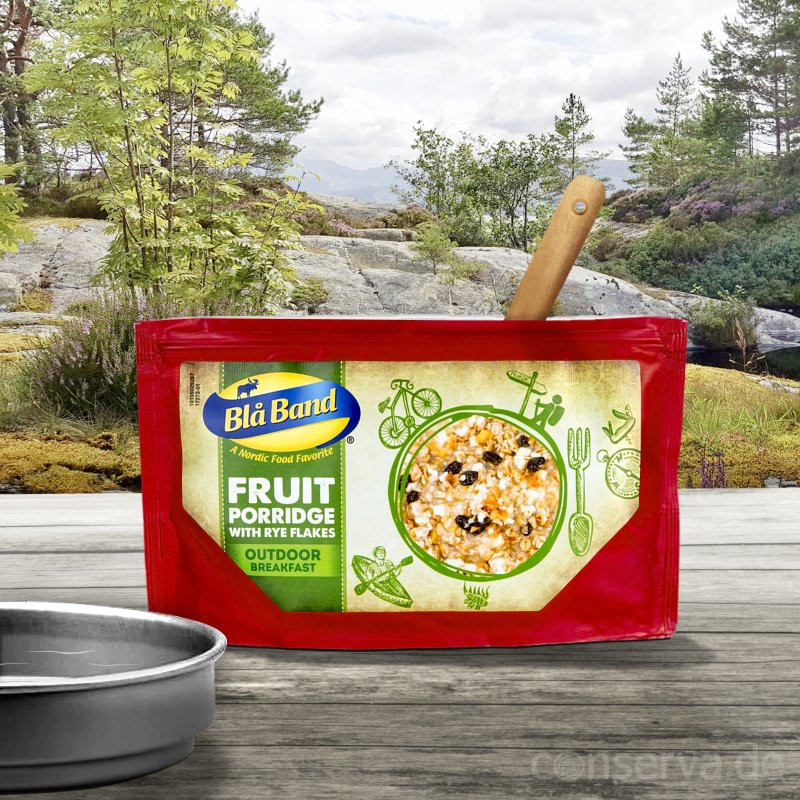 Blå Band fruit pulp with rye flakes