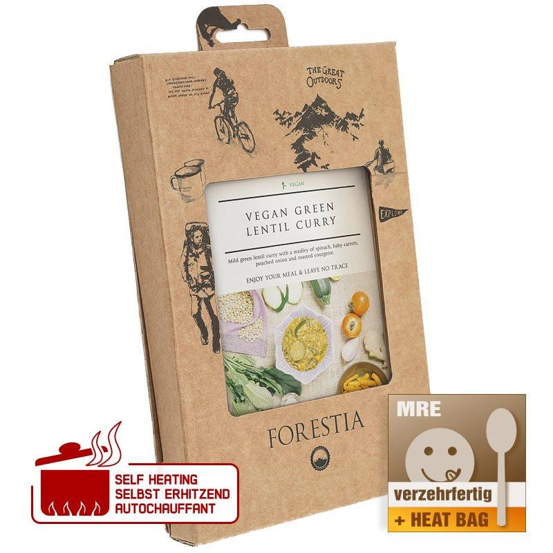 Forestia Vegan green lentil curry