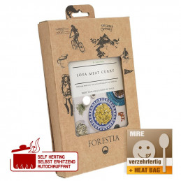 Forestia Soya meat curry with long grain & wild rice