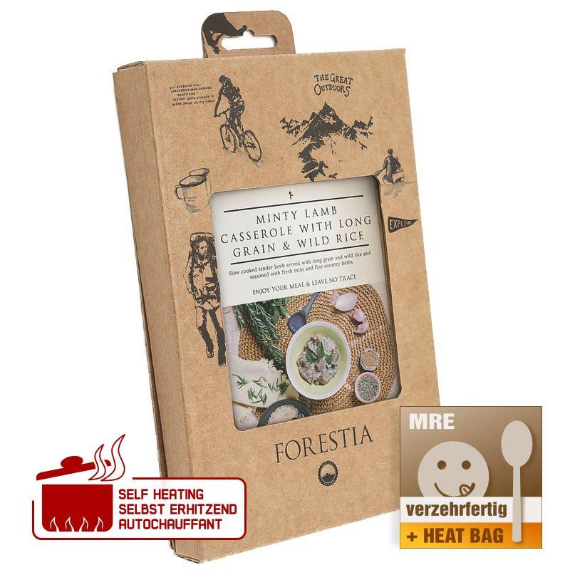 Forestia Lammeintopf mit Minze und Langkorn- und Wildreis