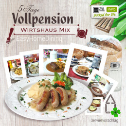 Vollpension Wirtshaus Mix